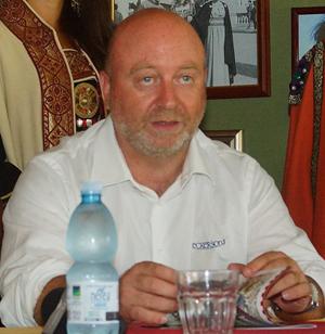 L'avvocato Giovanni Pomarico, presidente della Pro Loco di Oria