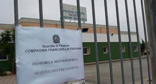Piscina icos sequestrata - Piscina francavilla fontana ...