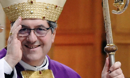 Vescovo Vincenzo Pisanello, Avvento 2014