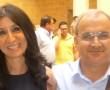 La presidente del Consiglio comunale di Francavilla insieme con il consigliere Luigi Fanizza
