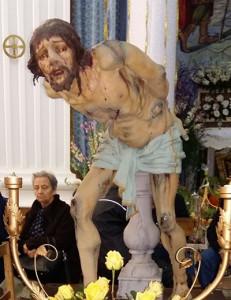 La statua del Cristo alla colonna