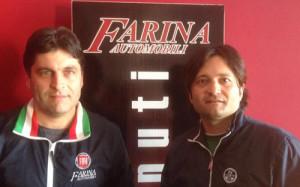I fratelli Antonio ed Emanuele Farina - Stasera ospiteranno il vescovo