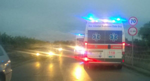 incidente ambulanza oria circonvallazione