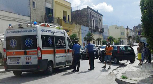 incidente-oria-via-latiano-carabinieri