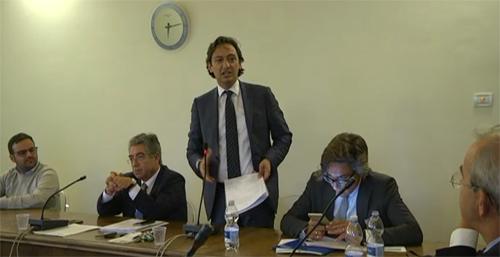 Il consigliere comunale Domenico Attanasi