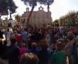 Una delle manifestazioni contro l'impianto