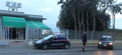 carabinieri posto di blocco controllo