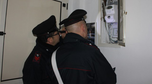 carabinieri energia elettrica