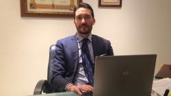 L'avvocato Luca Mangia, segretario cittadino di Forza Italia