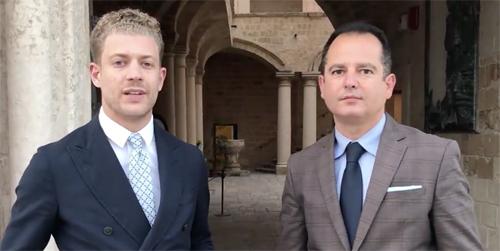 I consiglieri comunali Dario Mancino e Angelo di Noi