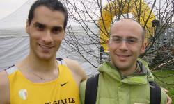 Con il suo migliore amico: Christian Resta. Uno dei figli di Mimmo porta il suo nome