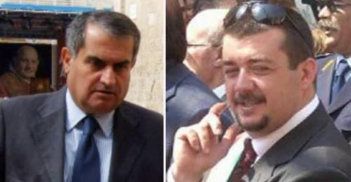 A sinistra Domenico, a destra Giuseppe Margheriti