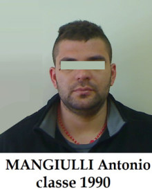 MANGIULLI Antonio, classe 1990