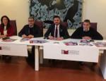 Da sinistra: l'assessore Michela Lonoce, il sindaco Maurizio Bruno, l'assessore Nicola Cavallo e l'organizzatore Antonio Rubino