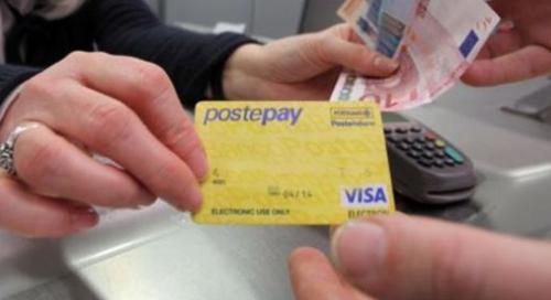 carta di credito prepagata postepay