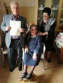 maria francesca mazza 100 anni 1