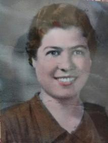 Maria Francesca in un ritratto da giovane