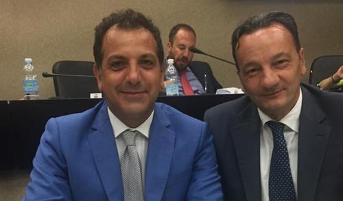 Luigi Morgante e Giannicola De Leonardis