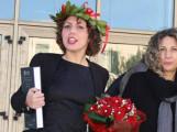 Maura in compagnia di sua mamma Gabriella nel giorno della terza laurea (in Lettere)