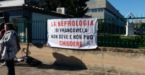 nefrologia camberlingo protesta manifestazione 6