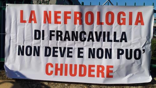 nefrologia camberlingo protesta manifestazione