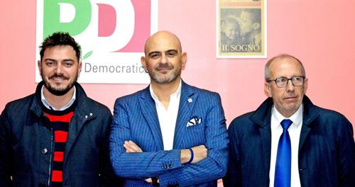 Da sinistra: Nicola Cavallo, Fabio Zecchino, Giovanni Carlucci
