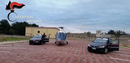 controlli carabinieri elicottero