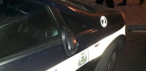 polizia locale francavilla auto danneggiata 5