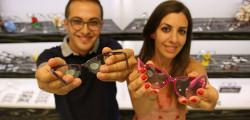 """Francesco e Natalia, ottici optometristi titolari di """"Stylottica"""""""