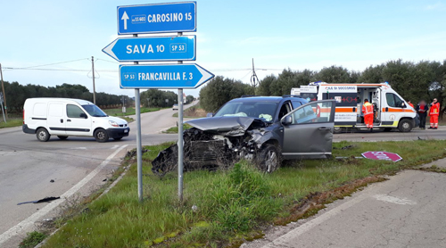 incidente francavilla sava 2