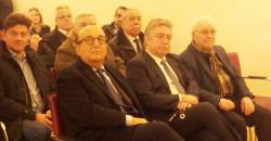 In prima fila: Luigi Vitali, Euprepio Curto, Nicola Iaia